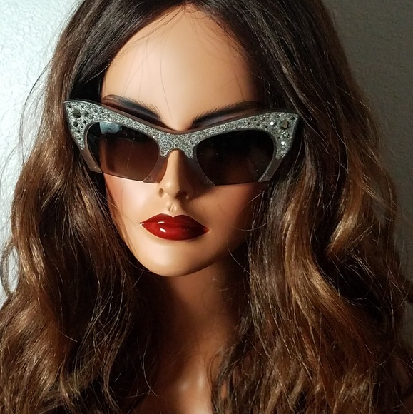 6c254f24fb9e Miu Miu Accessories | Rasoir Rock Cat Eye Sunglasses | Poshmark